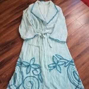 Vintage Chanile Robe